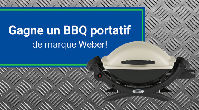 BBQ portatif Weber avec PointS
