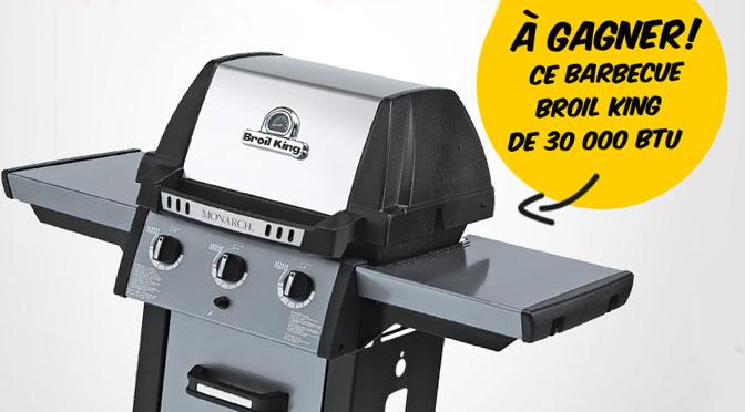 À vos grillades: Gagnez un barbecue Broil King d'une valeur de 399 $ avec EconoMax