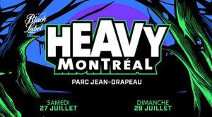 """Gagnez 2 passes """"admission générale"""" pour le festival HEAVY MONTRÉAL 2019"""