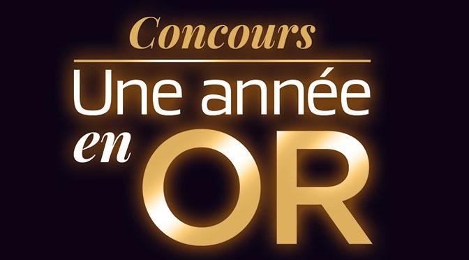 Concours Une année en or TVA avec La Voie