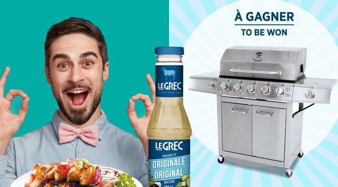 Concours Le Grec BBQ à gagner été 2019